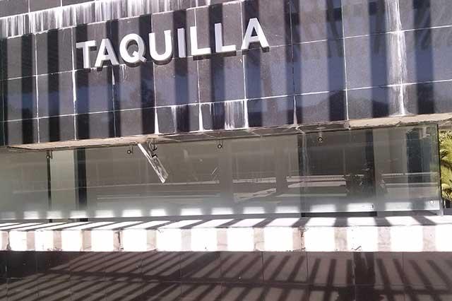 Pierde brillo el auditorio de la Reforma a 2 años de su rescate