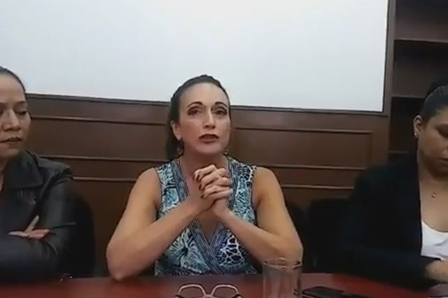 Francisco Castillo me agrede porque soy mujer: Díaz de Rivera