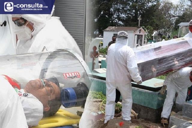 Se duplican muertes por Covid en Puebla con la Nueva Normalidad
