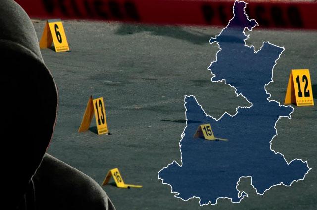 Crecen delitos en la mitad de los municipios poblanos