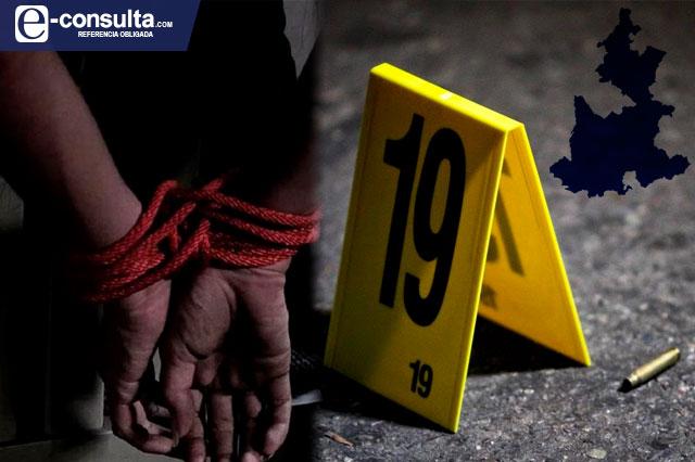 Se duplican víctimas de secuestro y homicidio en Puebla en 6 años