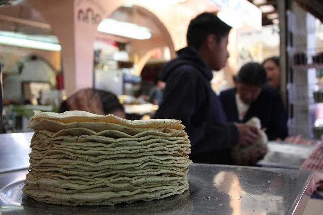 El precio más bajo de la tortilla se registra en Puebla: SNIIM