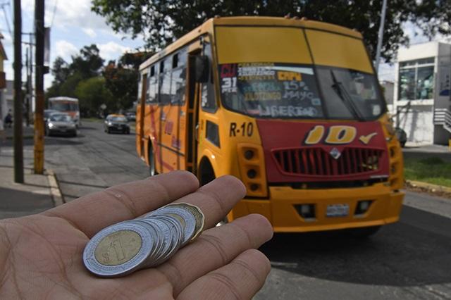Lo que todo poblano debe saber del aumento en el transporte público