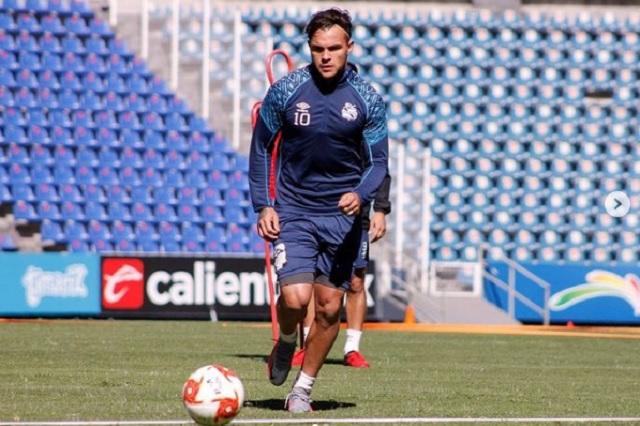 Christian Tabó, la sensible baja para el Puebla en su visita a Monterrey