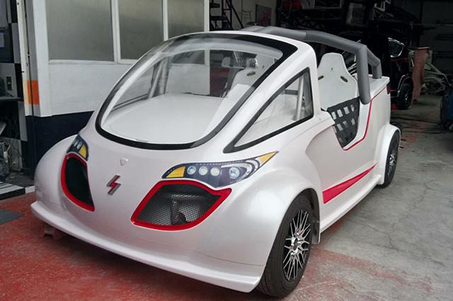 Auto eléctrico: no requiere de gasolina pero cuesta 500 mp