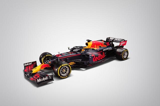 Fórmula 1: Red Bull presenta el nuevo monoplaza de Checo Pérez