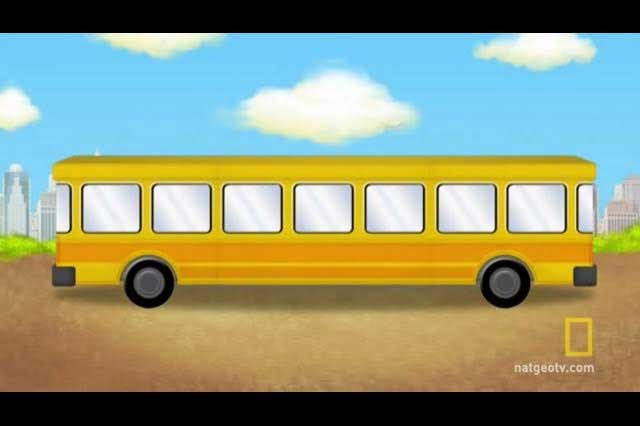 Reto viral: ¿Hacia dónde avanza el autobús?