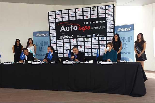 Segunda Autoexpo en Puebla reunirá a 30 marcas y 20 mil visitantes