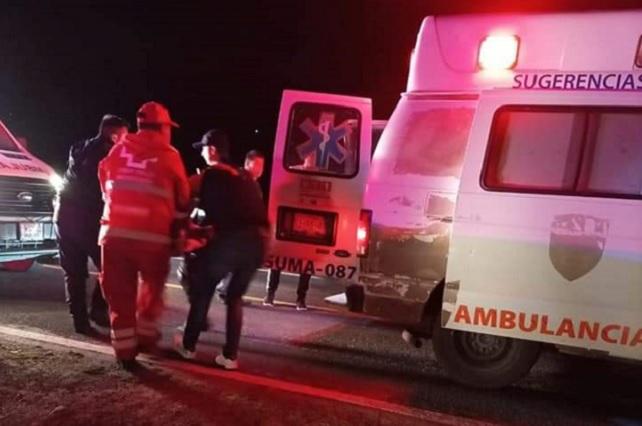 Automovilista es herido en el cuello durante asalto en Zacatlán
