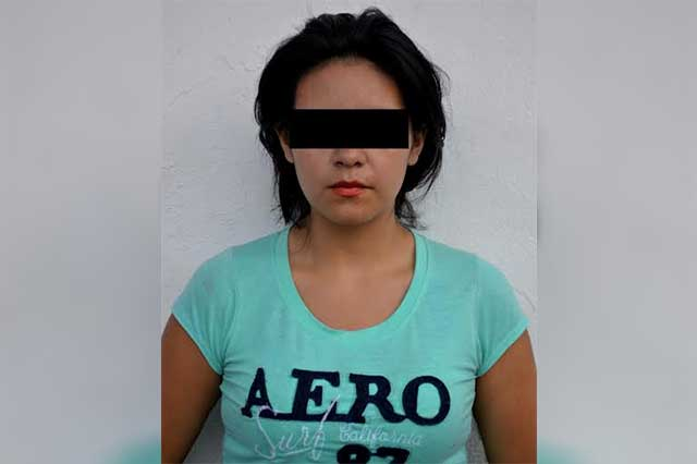 Eva pecó robando autopartes y fue detenida en El Carmen