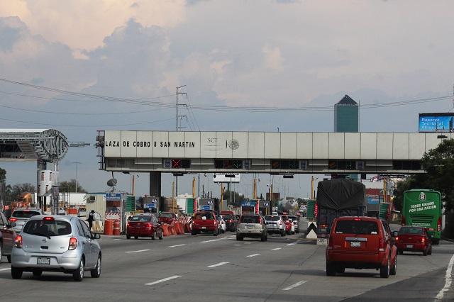 Gobierno estatal licita puente vehicular para autopista México Puebla
