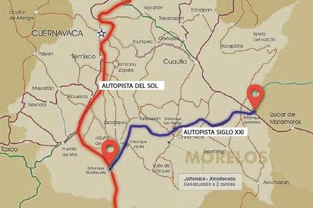 Por fin terminan la autopista que conecta a Puebla con Acapulco