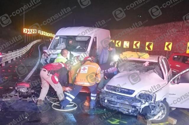Choque en la autopista México-Tuxpan deja un muerto