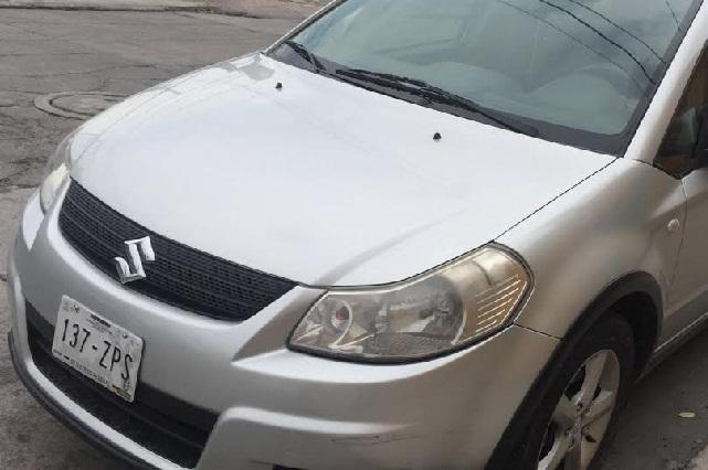 Recuperan autos con reporte de robo en el extranjero