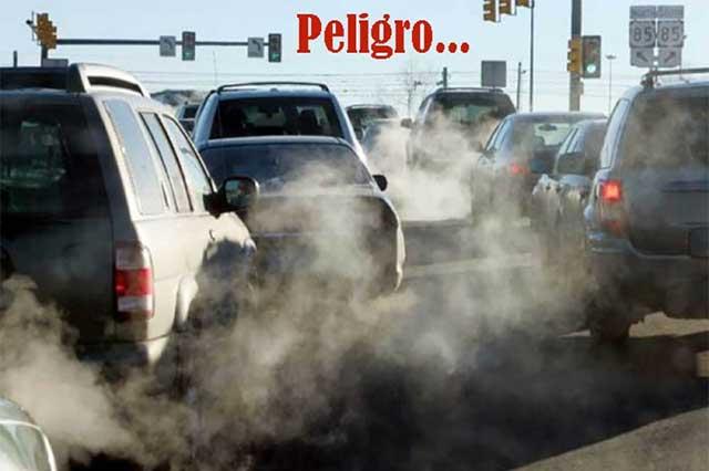 Autos, los más contaminantes de la Ciudad de México