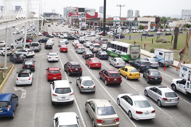 General control vehicular 353 mdp para Puebla en 2017