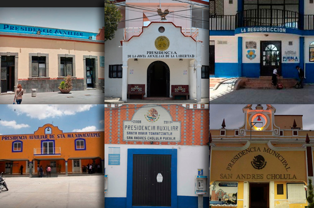Exigen salario 400 ediles auxiliares y mayor seguridad en Puebla