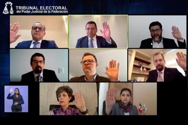 Avala TEPJF acuerdo del INE para redistritación electoral