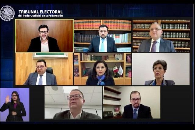 Avala TEPJF elección en Michoacán aunque anula cinco municipios