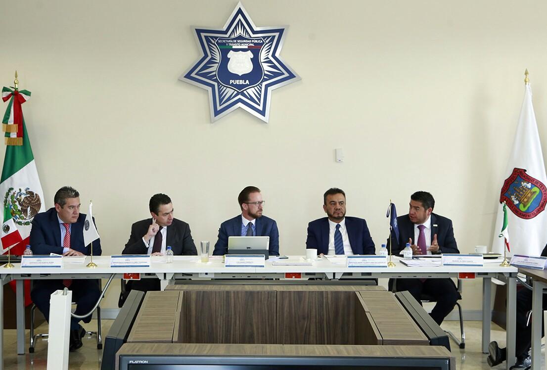 Encabeza Banck reunión para reforzar la estrategia de seguridad