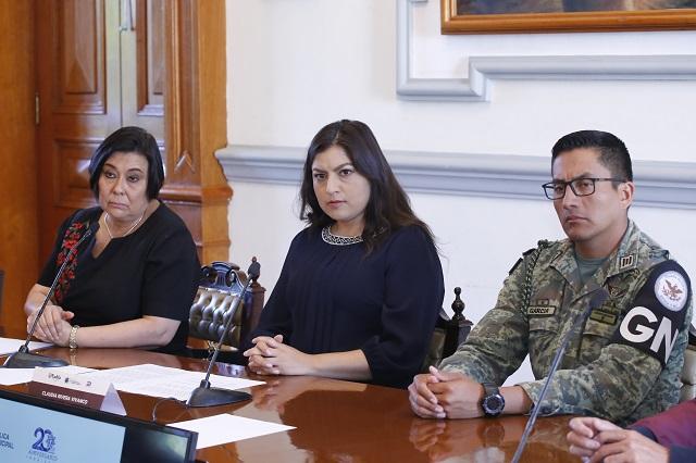 Destaca Rivera operativos contra delitos en la capital