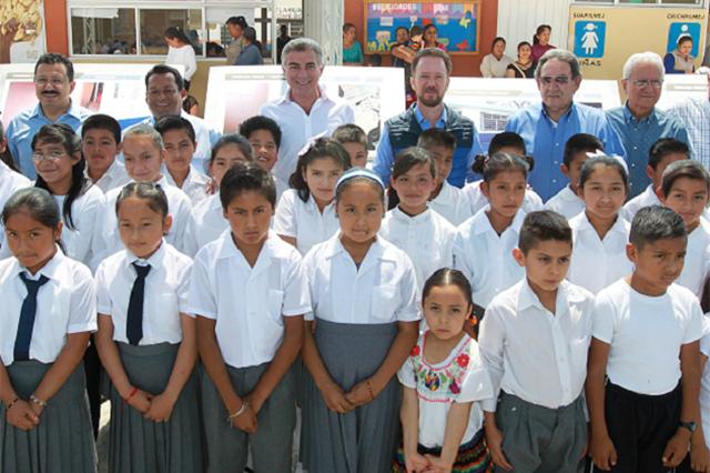 Avanza reconstrucción de escuelas dañadas por sismo 19 S, en la capital