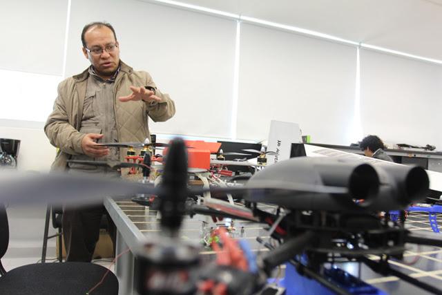 BUAP diseña vehículo no tripulado para realizar monitoreo ambiental