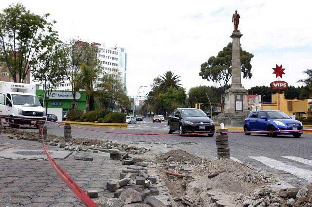 Agua de Puebla advirtió a SIMT de fallas en obras de la  Juárez