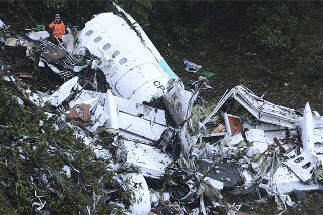 El avión del Chapecoense se desplomó porque no tenía combustible