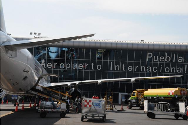 Crece 34.8% el tráfico de pasajeros en Puebla este año