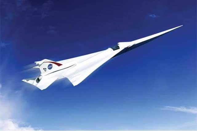 Planea la NASA avión supersónico ecológico y silencioso