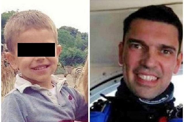 Lleva a su hijo a que lo vea saltar de paracaídas y viaje termina en tragedia
