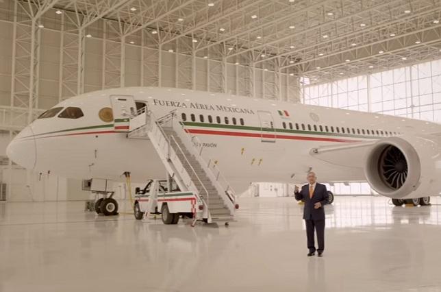 Avión presidencial le cuesta al erario mil mdp, con todo y rifa
