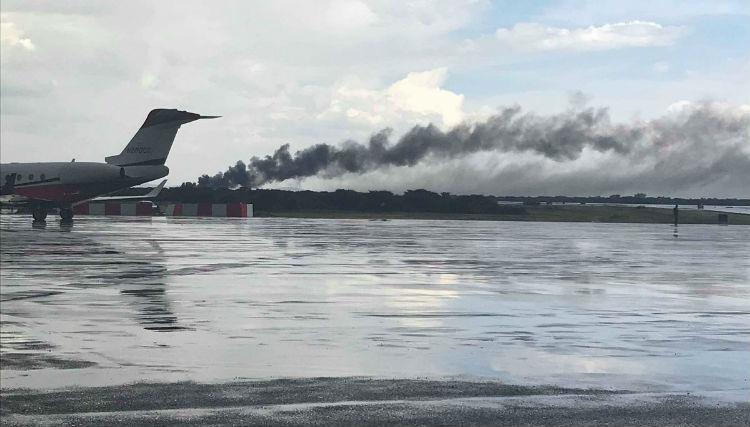 Atribuyen al mal clima el desplome de avión de Aeroméxico en Durango