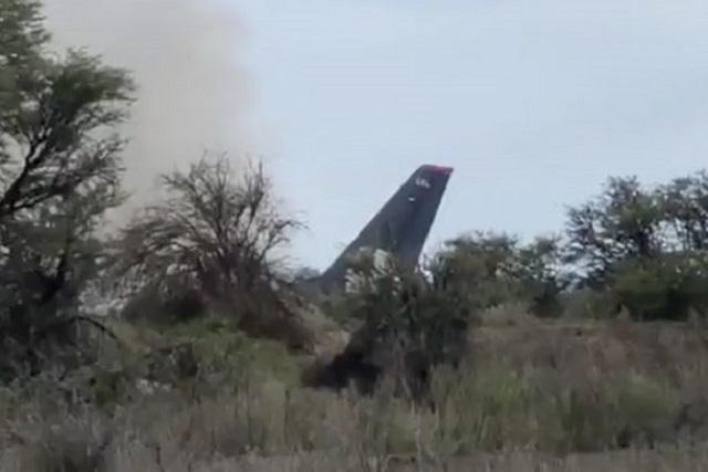 Difunden video del momento exacto del accidente de avión en Durango