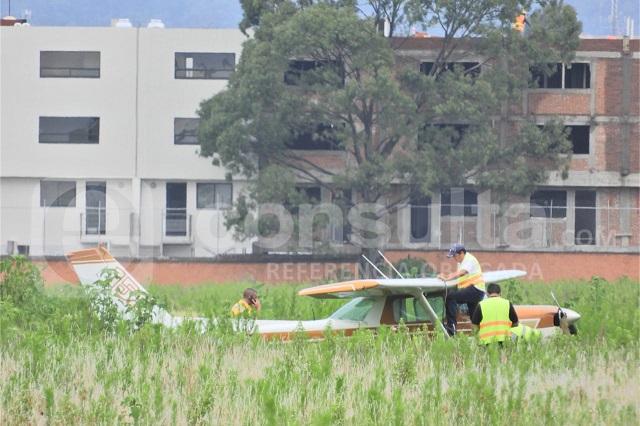 Otra avioneta aterriza de emergencia en Puebla por falla