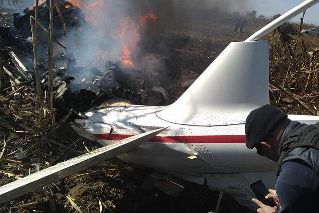 Revisa FGE el mantenimiento del helicóptero de Alonso y RMV