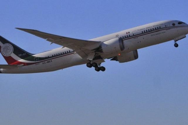 Empresa de Florida quiere rentar el avión presidencial, dice AMLO