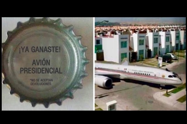 Chocan legisladoras poblanas por rifa de avión presidencial