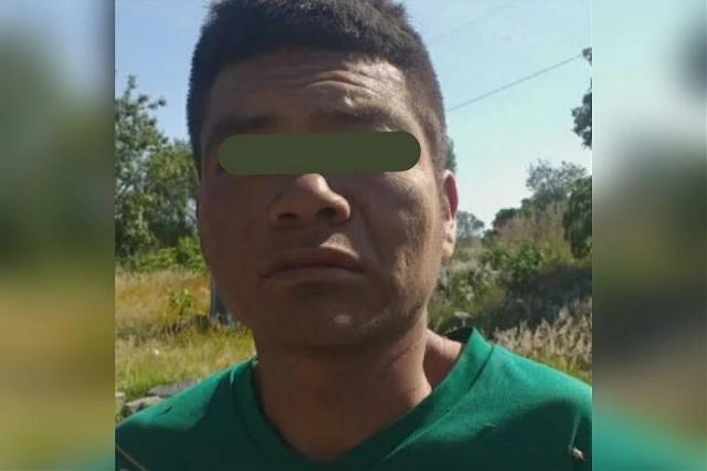 Detienen a presunto ladrón en San Jerónimo Coyula