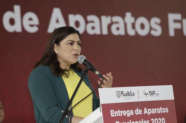 Claudia Rivera no piensa en la reelección pero no lo descarta