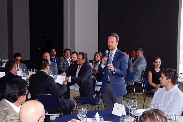Ayuntamiento de Puebla y Canacintra fortalecen cooperación