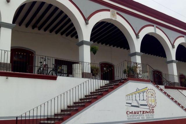 Paran clases y servicios públicos por sismo en Chiautzingo