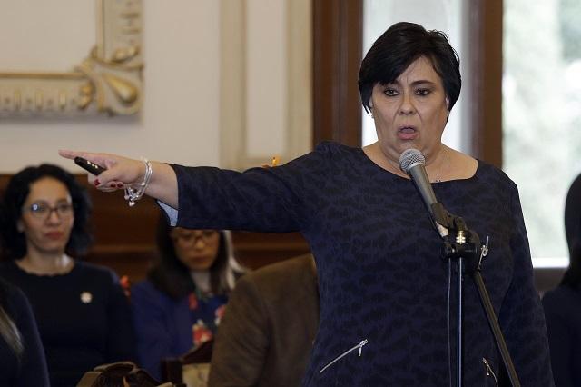 Se deslinda Lourdes Martínez de racha de cadáveres embolsados