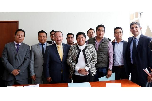 Ayuntamiento de San Andrés Cholula alcanza acuerdo con el Sindicato Único de Trabajadores del Ayuntamiento