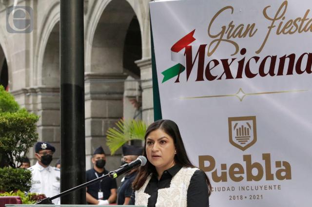 Último informe de gobierno de Claudia Rivera, 4 de octubre