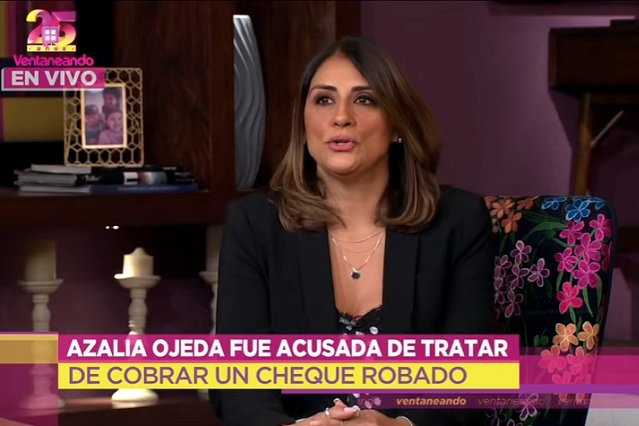 Azalia Ojeda relata momento en que la detuvieron: 'me pusieron un cuatro'