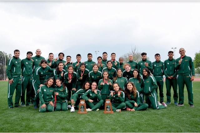 Aztecas UDLAP, dobletean subcampeonato en atletismo universitario