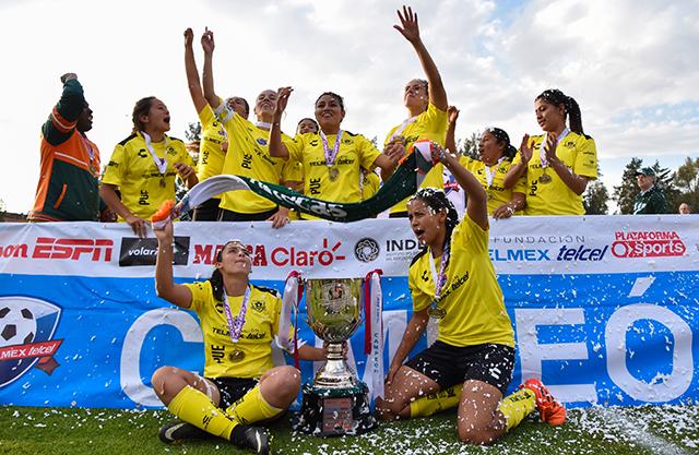 Las Aztecas UDLAP alzaron la Copa Telmex-Telcel