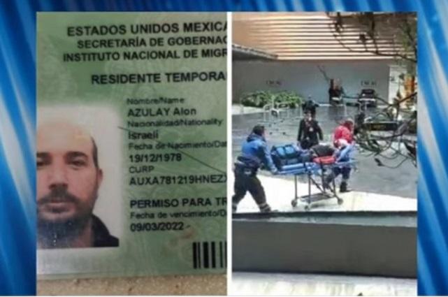 Recogen cuerpo familiares de israelí asesinado en Plaza Artz